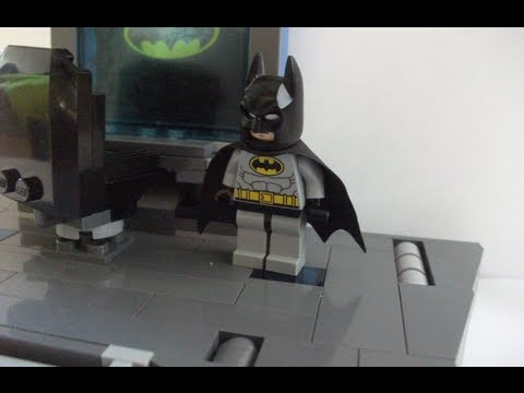 How to make a Lego Batcave Part 1 - Batcomputer - YouTube