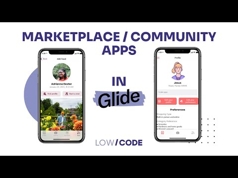 Marketplace / Community apps in Glide