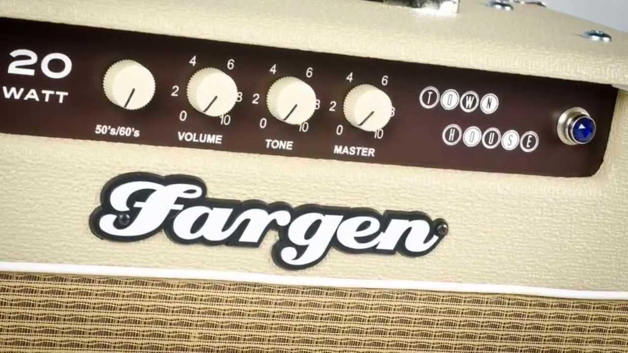 Fargen Townhouse 20 video demo by Fargen Amplification