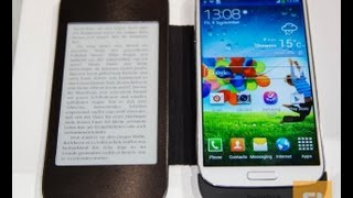 IFA 2013: PocketBook CoverReader hands-on