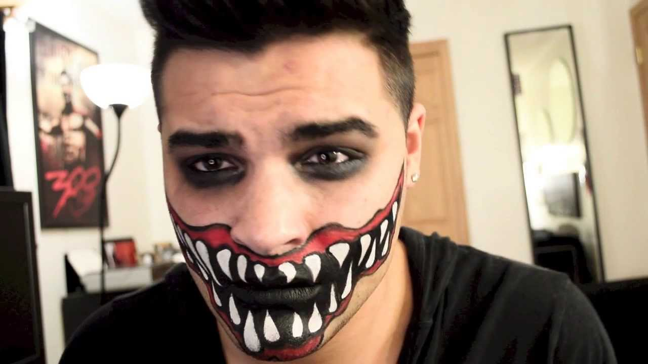 Scary Mouth Tutorial Alex Faction Youtube