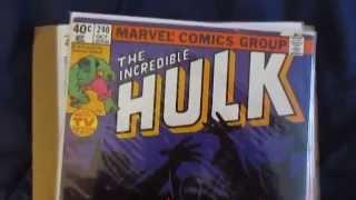 Incredible Hulk Comics #239 - #244