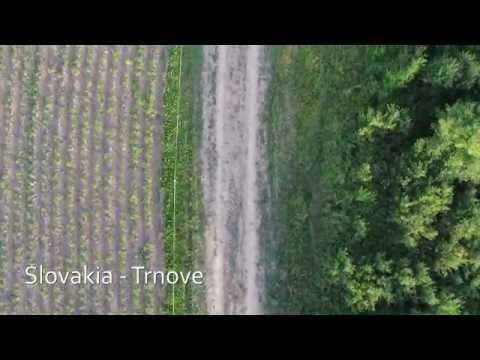 Dron Phantom 3 flight, SLOVAKIA - ZILINA.