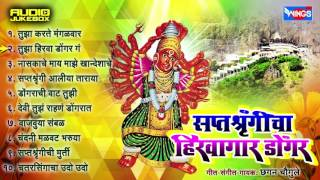 Saptashrungicha Hirwagar Dongar | Top 10 Saptashrungi Devi Songs | Latest Marathi Devotional Songs