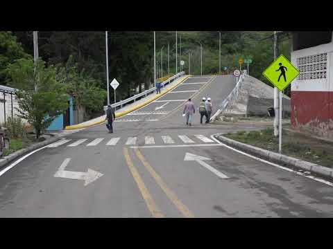 Contratista oficializó la entrega del nuevo puente sobre el rio Coello,, que comunica con Gualanday
