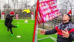 WEIHNACHTS FUßBALL CHALLENGE + GEWINNSPIEL !!