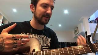 Frank Turner - The Lifeboat (Guitar lesson from Frank)