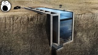 AMAZING House embedded into a cliff