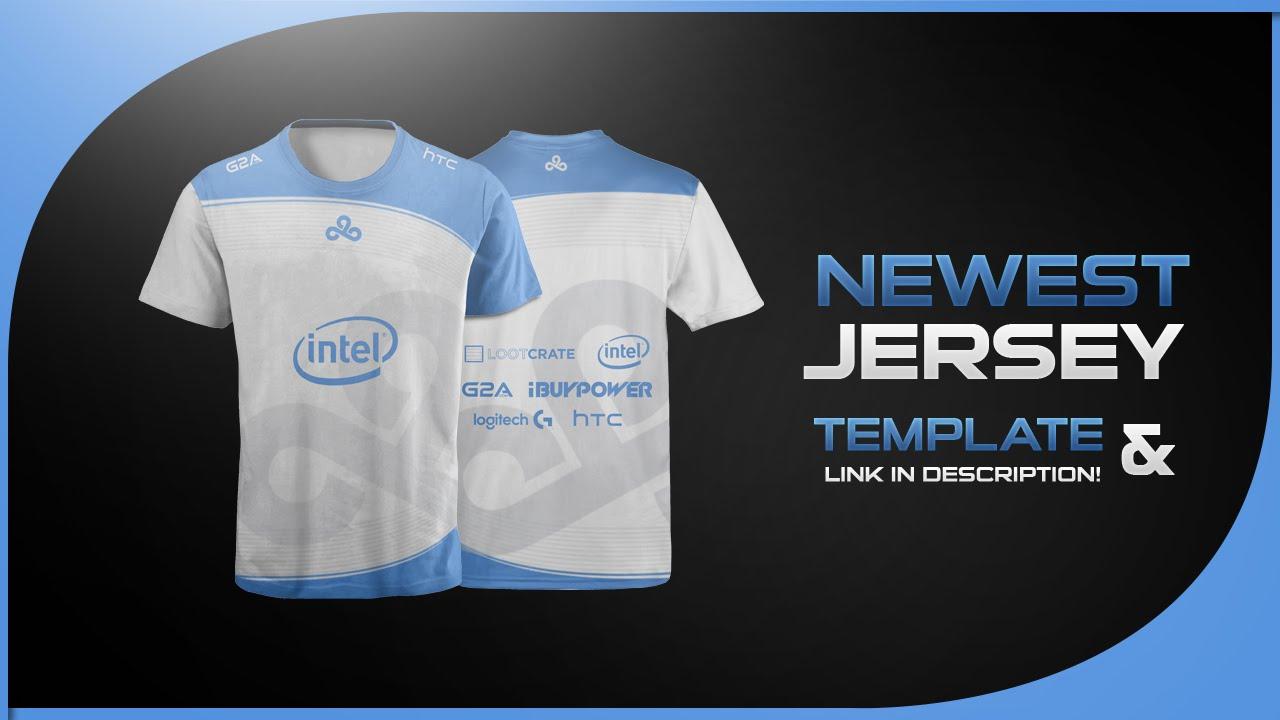 Newest Jersey Template #1 l Design Tutorial #10
