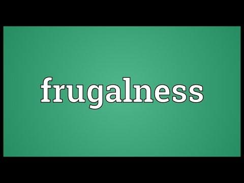 Header of frugalness