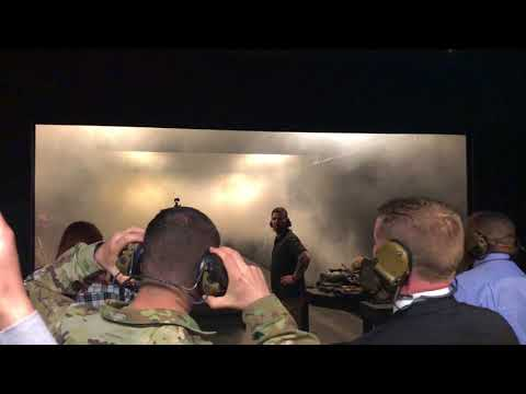 Live-fire demo for Army Under Secretary at Fort Belvoir