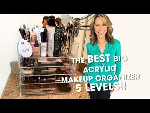 Best Large Acrylic Makeup Organizer