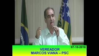 Pronunciamento Marcos Viana 07 10 16