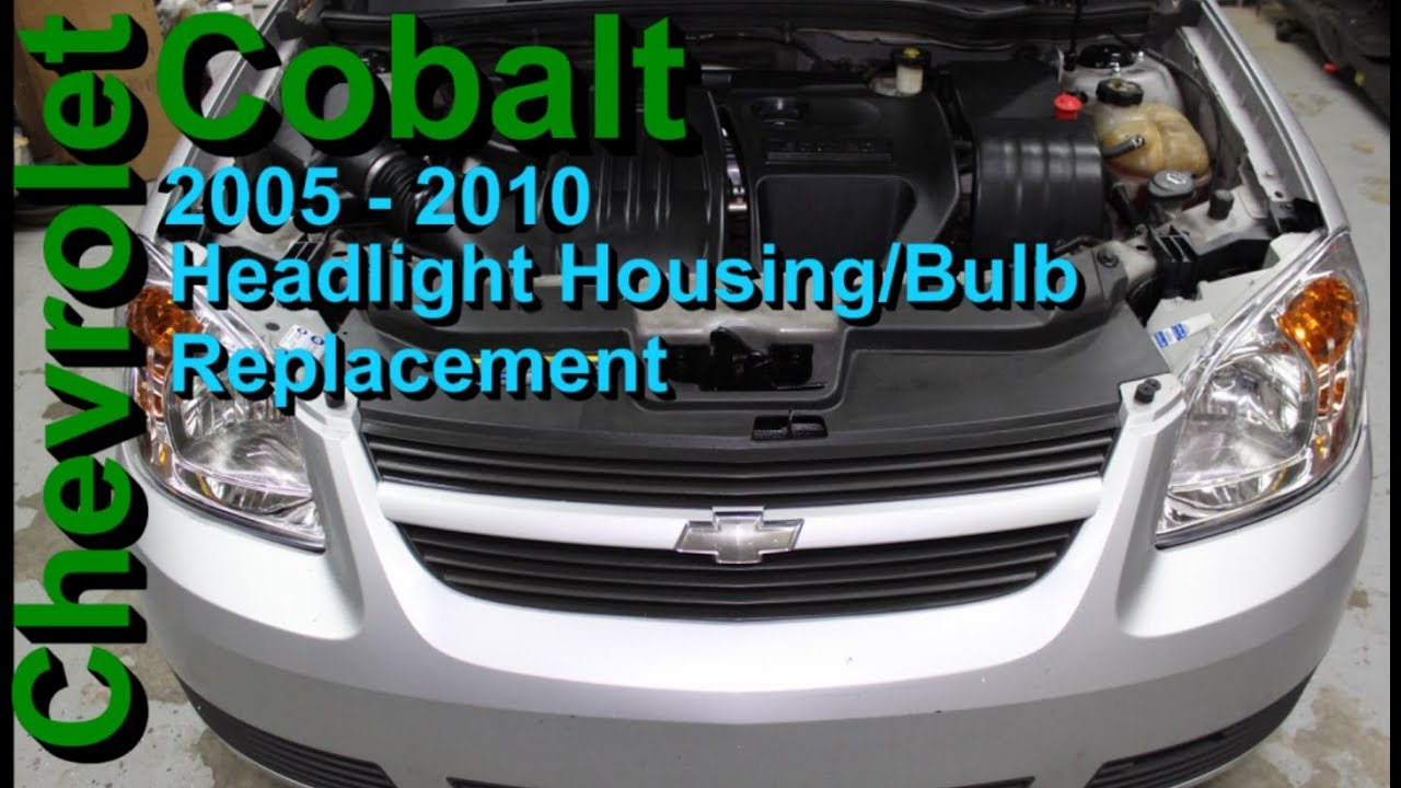 Chevrolet Cobalt Headlight Housing Bulb Replacement 2005 2010