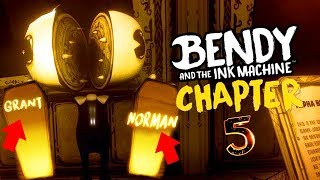 NEW BETA BENDY AND SECRET COFFINS FOUND! || Bendy and the Ink Machine Chapter 5 Archives Easter Eggs