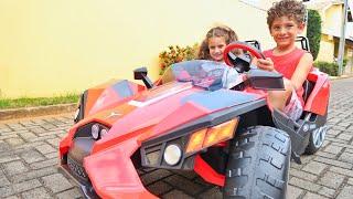 Mini veículo peg-perego e nosso fim de dia | Mariana Bonnás