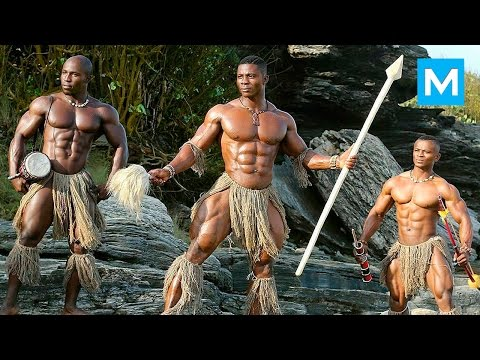 JUST HARD WORK - African Bodybuilders | Muscle Madness