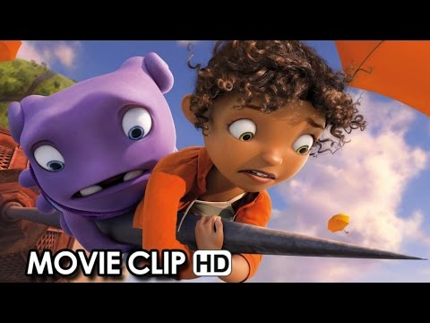 HOME Official Movie CLIP 'Dancing Oh' (2015) - Jim Parsons, Rihanna HD