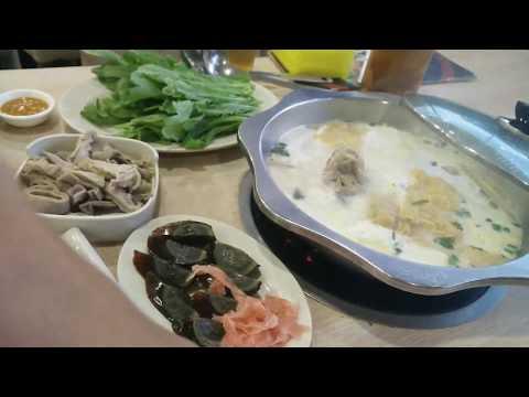 Eating Chinese-Malaysian Steamboat In Kuala Lumpur