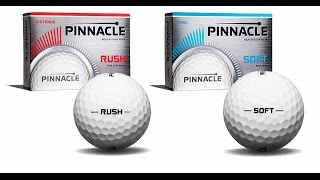 2016 Pinnacle Rush, Pinnacle Soft Golf Balls