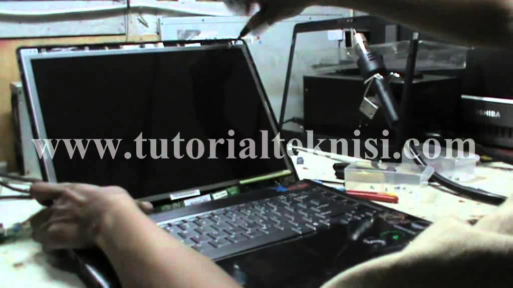 1 Cara Memperbaiki Laptop Axio Yang Lcd Nya Mati Youtube
