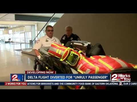 Delta flight diverted to Tulsa