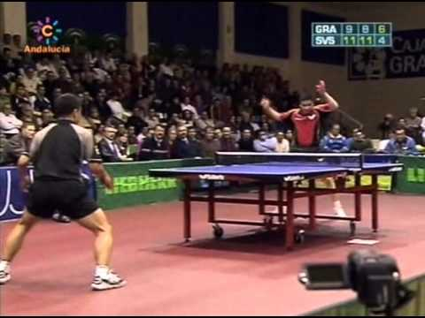 Table Tennis - Attack (with short pips on forehand) Vs Defense (with long pips on backhand) XXVII !