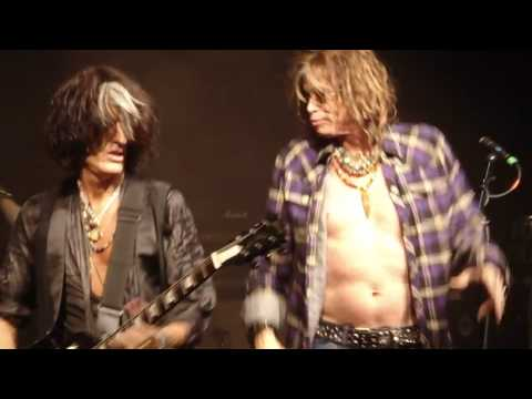 Joe Perry Project & Steven Tyler - Walk This Way live NYC