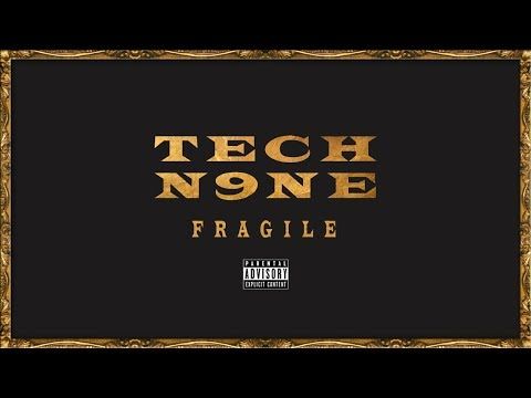 Tech N9ne - Fragile (Instrumental w/ Lyrics on Screen)