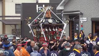 平成27年 神奈川県平塚市北金目 北金目神社例大祭 神輿渡御