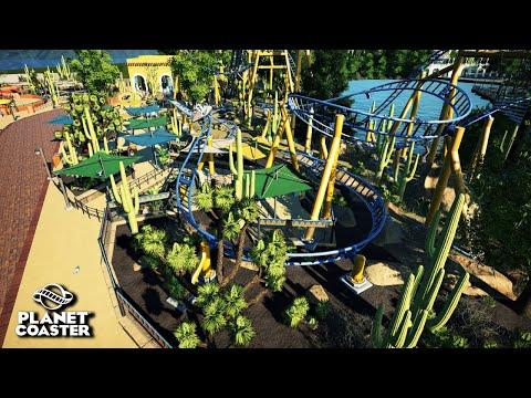 Planet Coaster | Adventure World 🌍 | Ep.38 Mexico - El Sombrero Custom Supports
