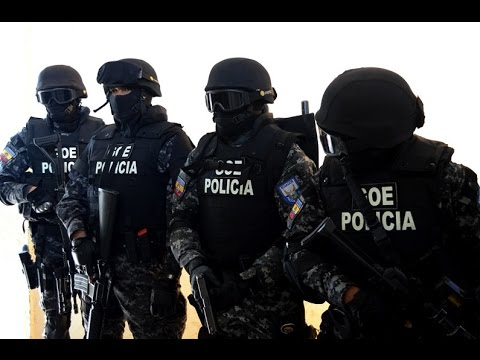 POLICIA  NACIONAL DEL ECUADOR - 2017