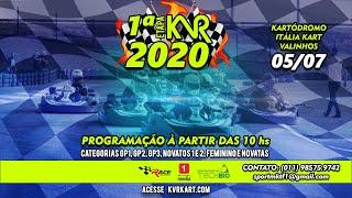 KVR Kart 2020 - 1º Etapa em Valinhos - Completo