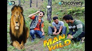 Man vs Wild || Bear Grylls || Man Vs. Wild New Episode || Spoof in Nepali By Hp 2018