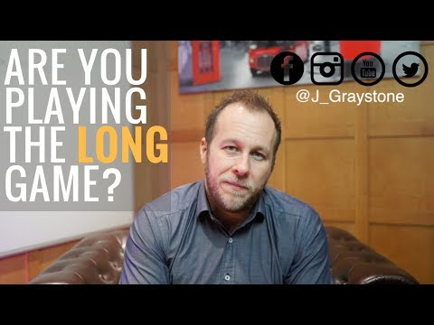 Graystone Trader Vlog - Are you playing the LONG game