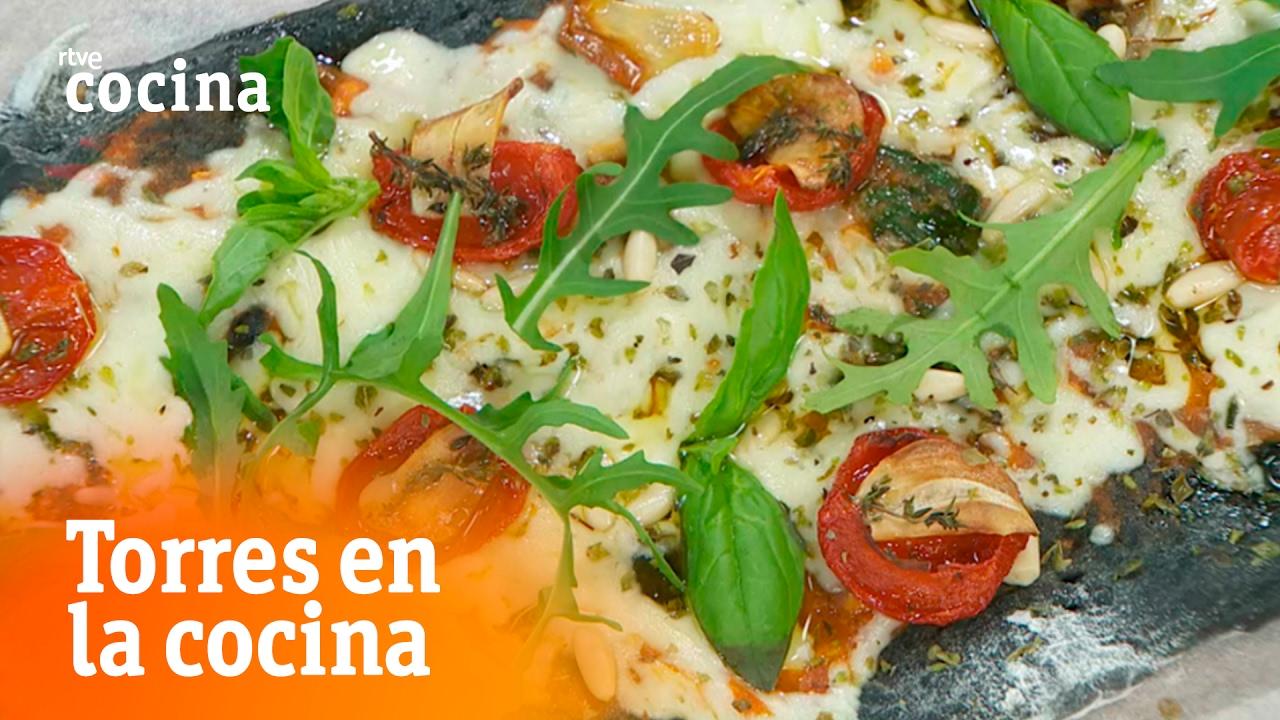 Pizza o coca vegetariana torres en la cocina rtve for Torres en la cocina youtube