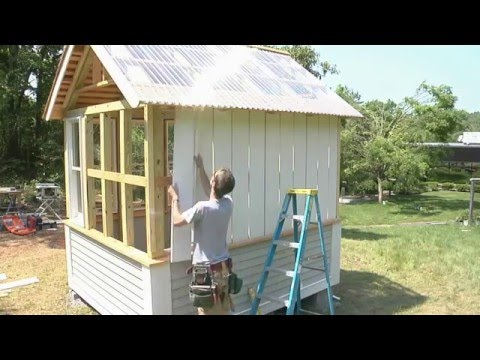 How to install board and batten siding youtube Exterior board and batten spacing