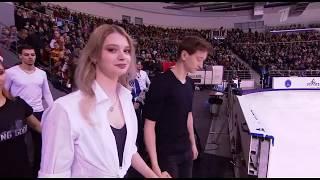 Чемпионат России по фигурному катанию 2020 Финальный выход участников на показательных выступлениях