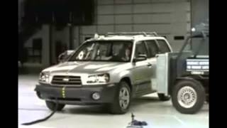 139. IIHS Front and Side Crash Tests for 2003-2008 Subaru Forester