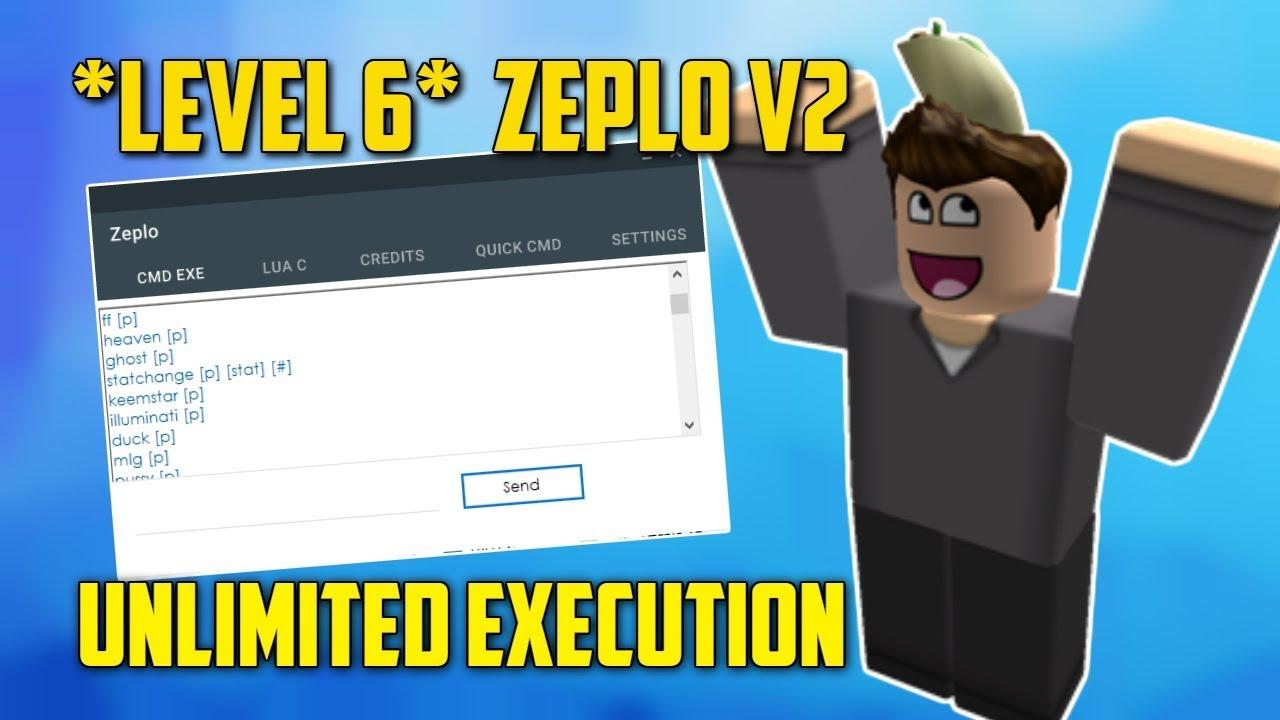 Op New Level 6 Exploit Zeplo V2 Working Lua C Script Executor
