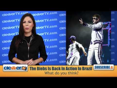 Justin Bieber Lights Up Brazil Stage