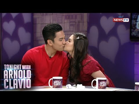 Tonight with Arnold Clavio: JakBie's sweet messages for each other