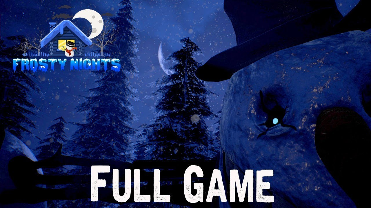 Frosty Nights Full Game & ENDING + Nightmare Night Gameplay Playthrough (No Commentary)