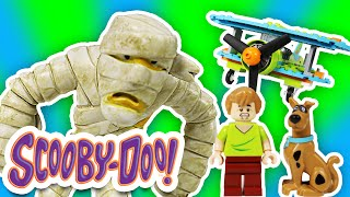 SCOOBY DOO Toys Lego Mystery Plane Adventures Toy Parody Video with Scooby and Shaggy