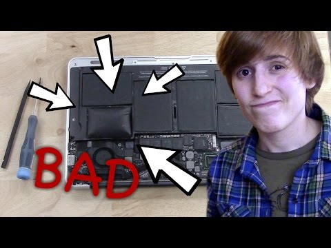 how to fix a stuck trackpad on a macbook air