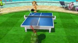 Wii Sports Resort - Table Tennis - The 11 point game