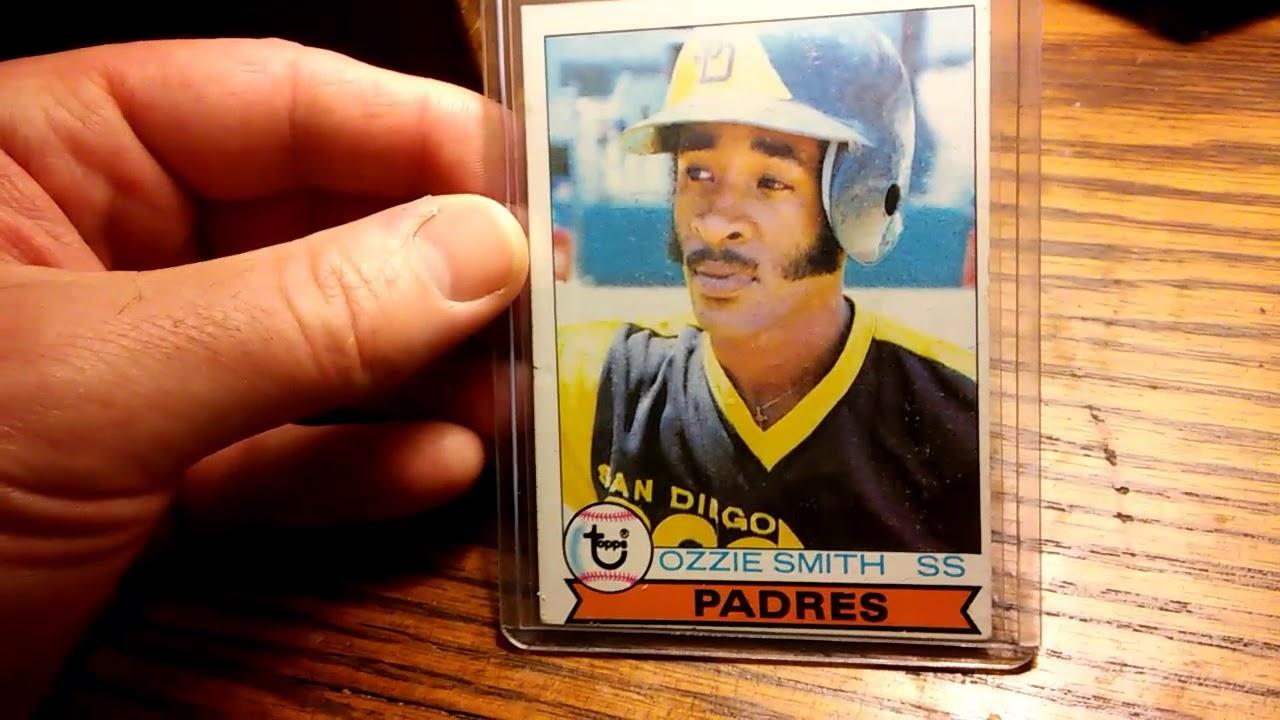 Ozzie Smith 1979 Topps Rookie Card 116