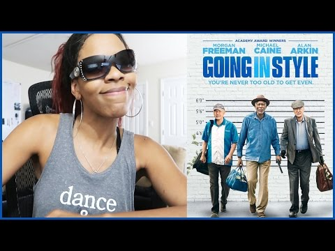 Going In Style Movie Review (No Spoilers) | Funny Movie Reviews 2017
