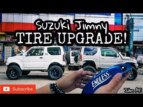Suzuki Jimny Tire & Suspension Upgrade 2019 - BFG KO2 (Philippines)