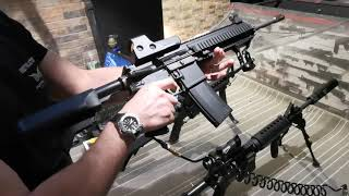 Hekler & Koch 416 + Daytona רובה איירסופט עם רתע